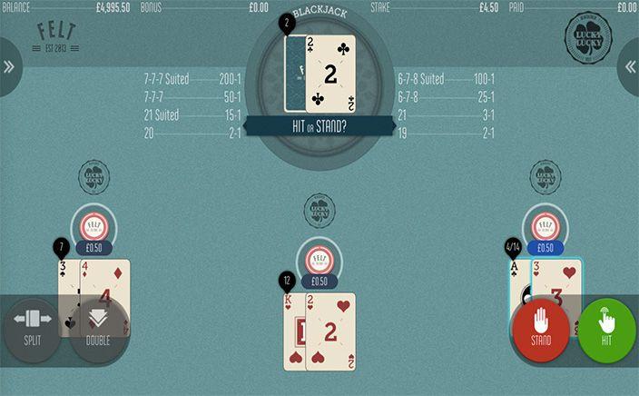 Blackjack Lucky Lucky