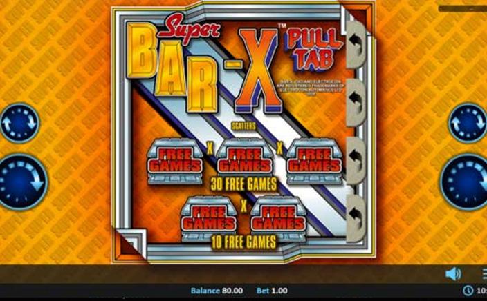 Super Bar X Pull Tab